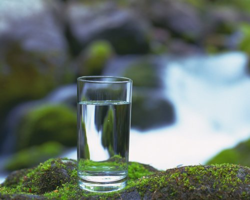 glass-cup-near-rushing-water-1